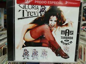 CD-NEW-Gloria Trevi- Mas Turbada que Nunca-Brand New