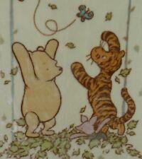 "Disney Classic Winnie The Pooh, Piglet & Tigger Fleece Baby Blanket 31"" x 45.5"""