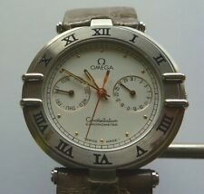 Omega Constellation men's watch with day / date white dial with original strap