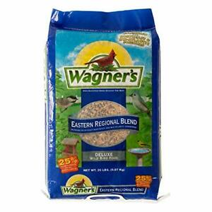 Wagner's 62004 Eastern Regional Wild Bird Food 20-Pound Bag