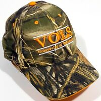 UT University Of Tennessee Vols Hat Headwear by the Game Camo Strap Back Cap