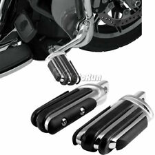 Chrome Motorcycle Footpeg For Harley Dyna Sportster Softail Touring Street Glide