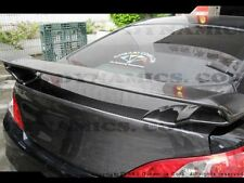 FOR 10-13 HYUNDAI GENESIS 2DR ABS RS REAR TRUNK WING SPOILER WITH CARBON FIBER
