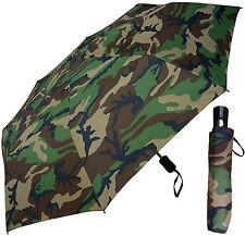 """42"""" Camouflage Auto-Auto Mini Umbrella - RainStoppers Rain/Sun UV Fashion Camo"""