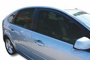 FORD FOCUS 2  4/5 portes 2004-prés  Deflecteurs d'air Déflecteurs de vent 2pcs