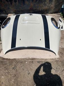 Bmw Mini Cooper S 2009 Convertible Bonnet In White 850/0 Pepper White