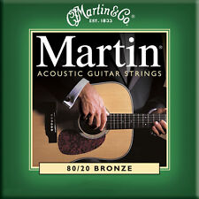 Martin Akustik Guitar Strings für Akustikgitarre extra Light
