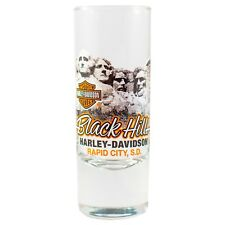 Black Hills Harley-Davidson® Mount Rushmore Tall Shot Glass