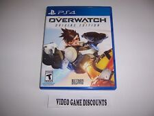 Original Box Case Replacement Sony PlayStation 4 PS4 OVERWATCH ORIGINS EDITION