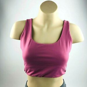 Gymshark Running Crop Top Sports Bra Gym Yoga Top Activewear Ladies Medium