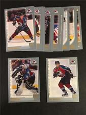2000/01 Topps Colorado Avalanche Team Set 17 Cards Stanley Cup Champions