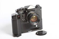 Canon f-1 + Canon Motor Drive MF + Canon FD 1,4/50 S.S.C.