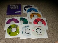 Print Artist Publisher PC Program with pictured disks