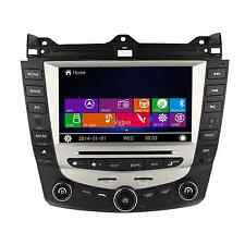 In Dash Car DVD GPS Navigation Radio Stereo For Honda Accord Single AC