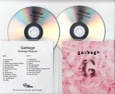 GARBAGE Garbage Deluxe Edition 2015 UK 21-track promo test 2-CD