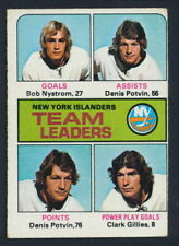 1975-76 Topps Hockey #323 New York Islanders TL
