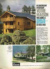 A- Publicité Advertising 1962 Faites batir votre  Maison Eternit