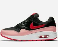 Nike Air Max 1 QS Women's ( UK Size 4 EUR 36.5 ) Black / Speed Red Latest NEW