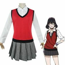 Kakegurui Midari Ikishima School Girls Uniform Set Cosplay Costume Fancy Dress