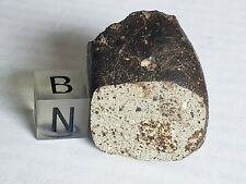 HED Polymict Eucrite meteorite, 23.25g crusted piece with window.
