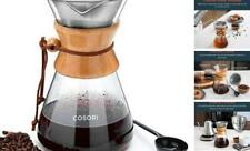 Cosori Pour Over Coffee Maker, 8 Cup Glass Coffee Pot&Coffee Brewer with