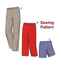Kwik Sew K3482 Pattern Kwik Start Learn to Sew Women's Pants & Shorts 1X-4X BN