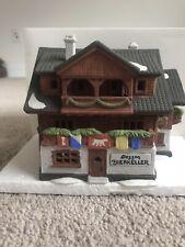Dept 56 Alpine Village ~ Besson Bierkeller ~ Mint In Box