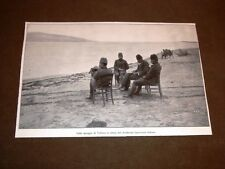 Valona o Vlora nel 1913 Sulla spiaggia attesa degli italiani Guerra in Albania