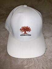 Mission Hills Taylormade Adidas Golf Hat Cap Fitted Flex Size L/Xl