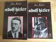 Adolf Hitler par Alan Bullock en 2 tomes Ed. Marabout 1980