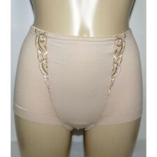 M & S Size 12 Firm Control Knickers No VPL Low Leg Panties Briefs Natural