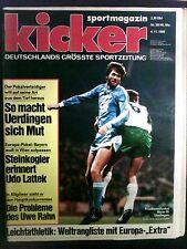 kicker sportmagazin Nr. 90 / 45. Woche 4.11.1985