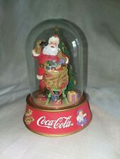 Coca Cola Hospitality limited edition Santa figurine Franklin Mint 1996