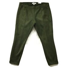 Old Navy Womens Pants size XXL 2XL new nwt Olive Green Stevie Sueded Slim Skinny