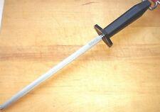 """Victorinox SHARPENING STEEL 10"""" Round Black Handle Kitchen Cutlery 40580 NEW!"""