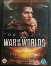 War Of The Worlds (DVD, 2005, 2-Disc Set) Tom Cruise Sci-Fi Epic
