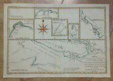 PAPUA NEW GUINEA 1780 by RIGOBERT BONNE ANTIQUE ENGRAVED MAP IN COLORS 18TH CENT