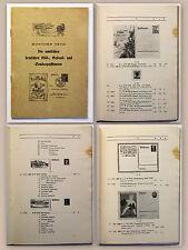 Heyd Die deutschen Bild- Gedenk- und Sonderpostkarten um 1940 Philatelie xz