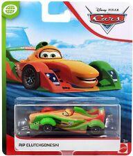 Disney Pixar Cars - RIP CLUTCHGONESKI WGP GPM - Mattel race car toy RARE HTF