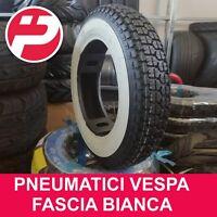 Pneumatico Copertone 3.50-8 4PR a Fascia Bianca per Piaggio Vespa EPOCA Vintage