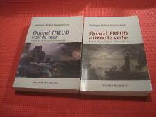 Georges Arthur GOLDSCHMIDT: Freud et la langue allemande Tomes I et II