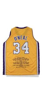 shaquille o'neal signed jersey