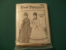 PAST PATTERNS 700 1850-1863 SKIRT CIVIL WAR WOMEN'S DRESS VICTORIAN