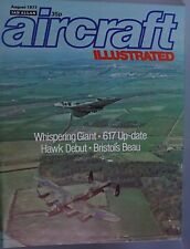 Aircraft Illustrated August 1977 Whispering Giant, 617 Update, Hawk Debut + More