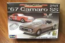 REVELL '67 CAMARO SS 2'n 1  MODEL KIT 1/25 SCALE