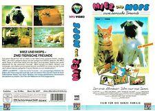 (VHS) Miez und Mops – Zwei tierische Freunde - Tierfilm Klassiker (1985)