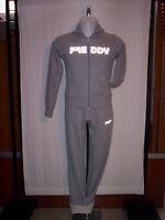 Tuta ginnastica sportiva Freddy donna fitness felpa zip pantaloni cotone XS S M
