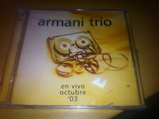 "Armani Trio ""En Vivo Octubre '03"" 2 disc IMPORT cd SEALED"