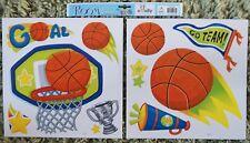 Children Kid Girl Boy Bedroom Basketball Sport Wall Sticker Decal Stickaround