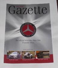 MERCEDES GAZETTE JULY 2010 - E220 CDI ESTATE/FLYING SCOTSMAN RALLY/280SL